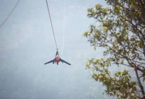 Adventure Triangle around Kathmandu: Zipline Dhulikhel, Kathmandu Paragliding and Bungee Jump