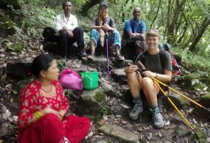Day Hiking in Kathmandu through Nepal Kameleon Trail