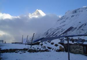 Annapurna Base Camp (4130 meters)
