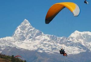 Pokhara paragliding experience