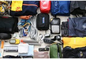 Equipment for Adventure Trekking