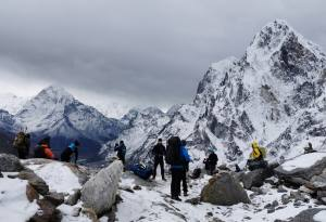 Everest Three Passes Adventure Trek for the Exploration of the Dyamic Himalayan Peaks