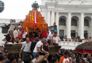 Indra Jatra Festival in Kathmandu: Get Blessings of the Living Goddess Kumari