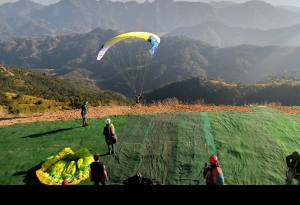 Paragliding Accuracy World Cup Beginning from Today in Syangja: Pilots from 21 Countries Gathered in Sworek