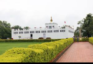 Tourists from  108 Countries in Lumbini