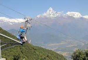Pokhara zipline