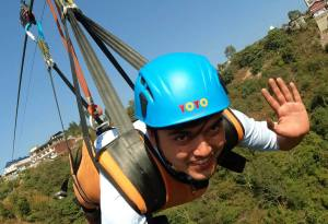 Zipline Superman Fly, Human Slingshot and Glass Sky Bridge in Kushma Parbat