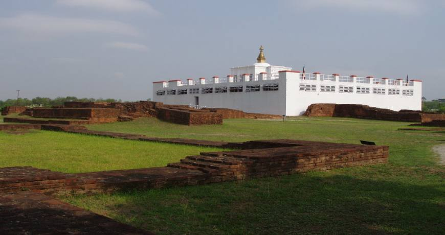 Lumbini, the world renowned pilgrimage destination