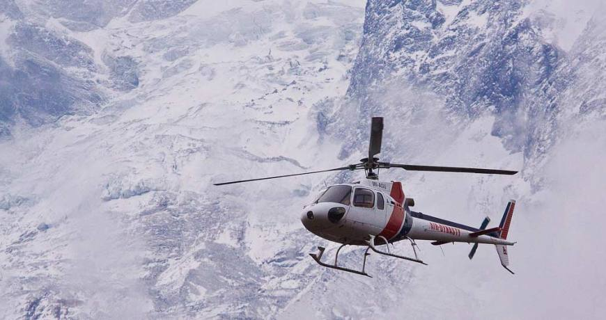 heli treks  and tours in nepal