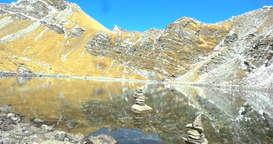 Khayer Lake in Annapurna