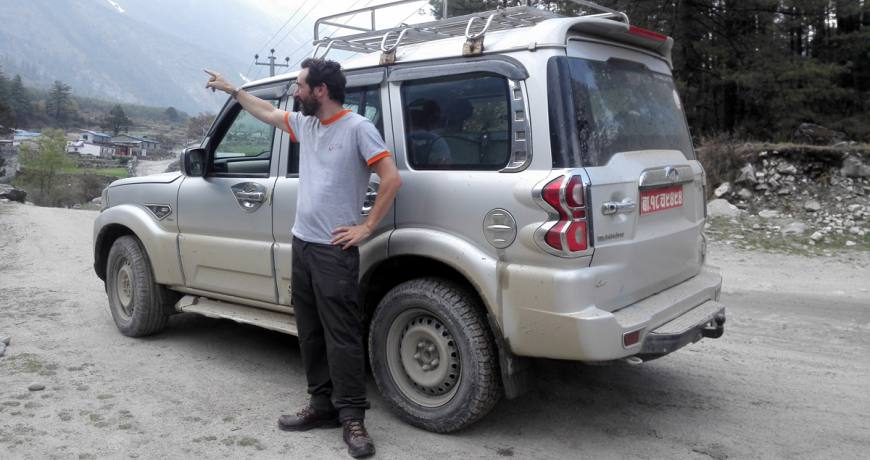 Jeep Tour and Trek in Nepal