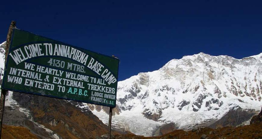 Annapurna Base Camp (4130 meters)