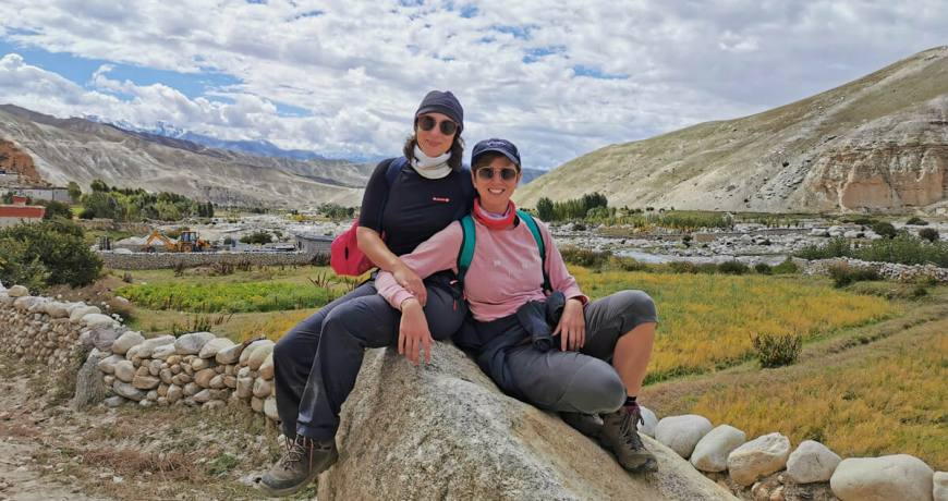 Upper Mustang Jeep Tour and Trekking Experience