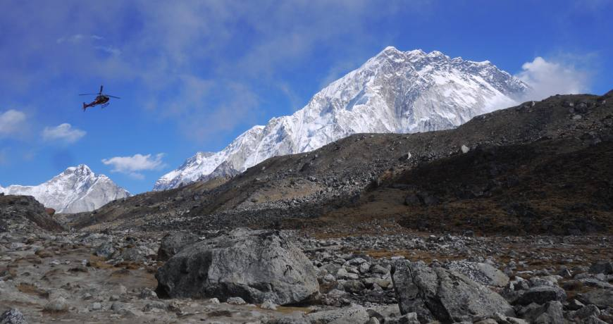 Everest Base Camp Helicopter Tour and Trek