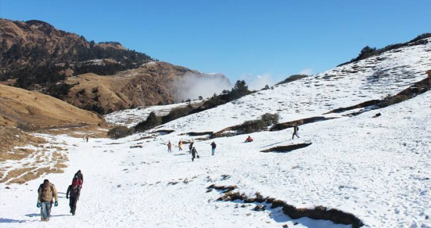 Often the area of Kuri-Kalinchowk remains snowy