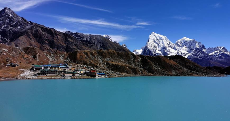 Gokyo Lake and Valley in the Everest Region