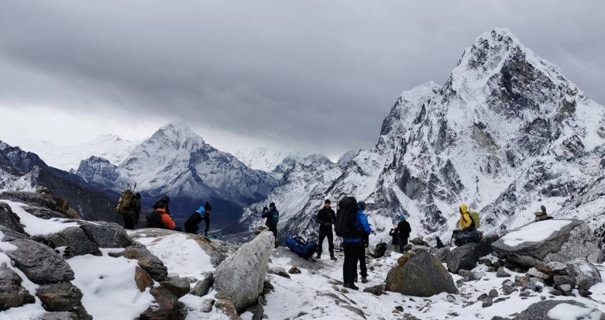 Crossing the High Passes of Everest Region via EBC