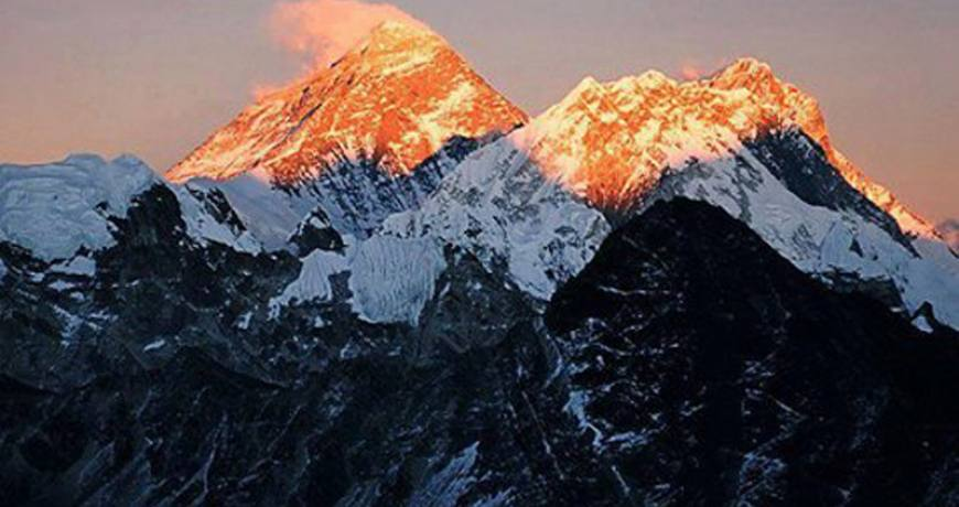 Everest Sunrise View