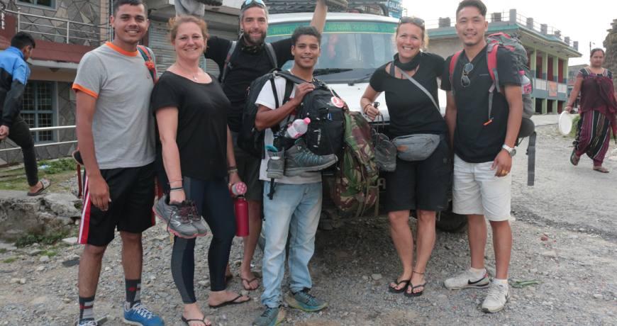 After the conclusion @ Sarangkot, Pokhara