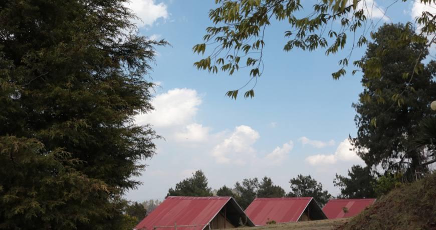 A village resort at the Ranikot village hill top