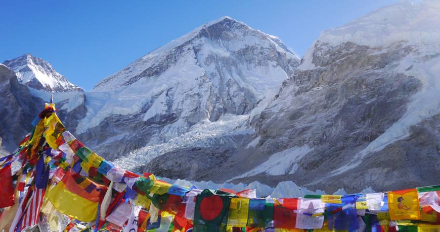 Everest Base Camp (5364 meters)