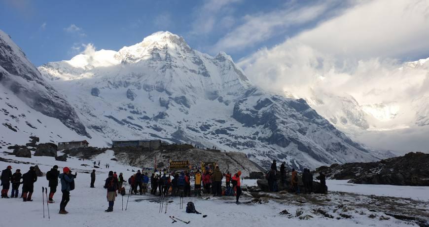 Annapurna Base Camp (4130 meters)- Booking WhatsApp: +977 9851159455