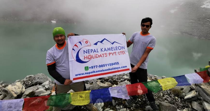 Kajin Sara Lake (5002m) in Chame Rural Municipality, Manang- Annapurna