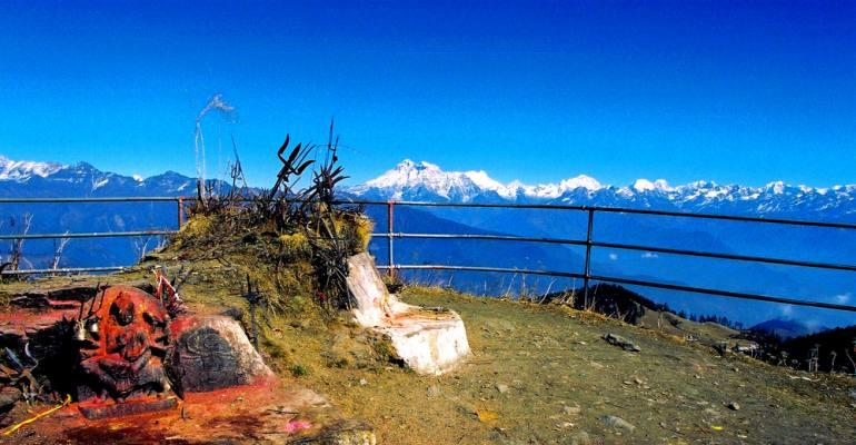 Rolwaling Panorama from Kalinchok Bhagwati