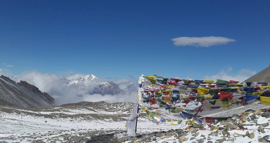 Annapurna Thorong La Pass (5416 meters)