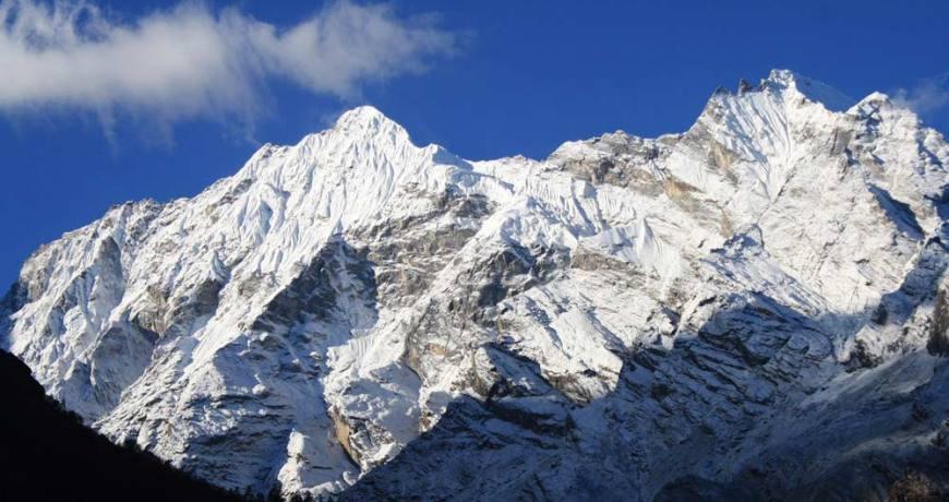 Ganesh Himal Range from Ganesh Himal Trekking