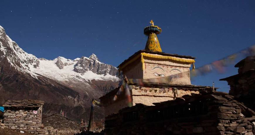 Scenery from Manaslu Circuit Trail