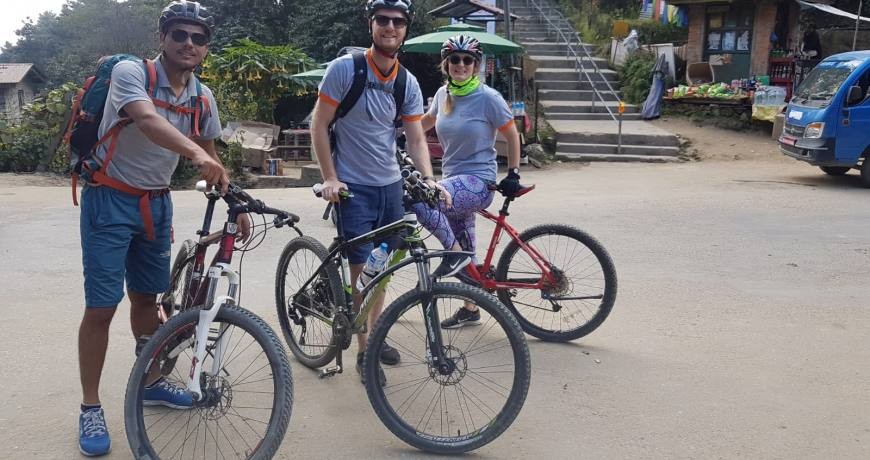 Godawori Mountain Bike Day Tour WhatsApp: +977 9851159455