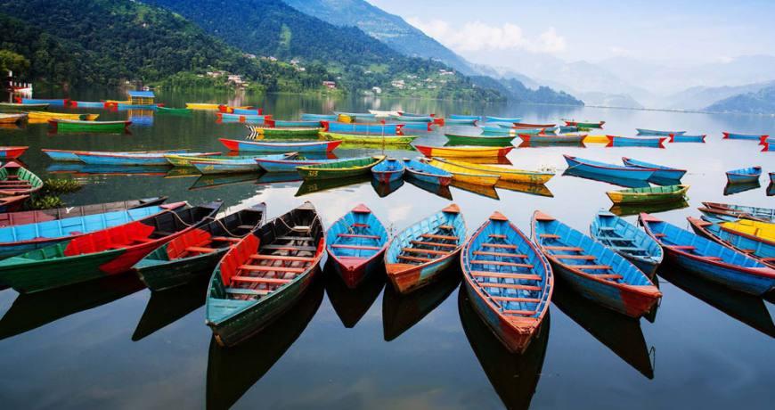 Boat Riding in Pokhara