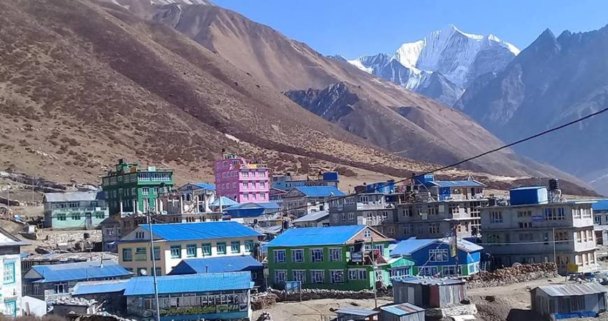 Kyanjin Village in Langtang (Trek Info WhatsApp: +977 9851159455)