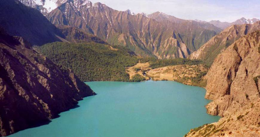 The Phoksundo Lake