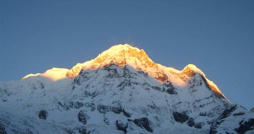 Mt. Annapurna I (8091 meters)