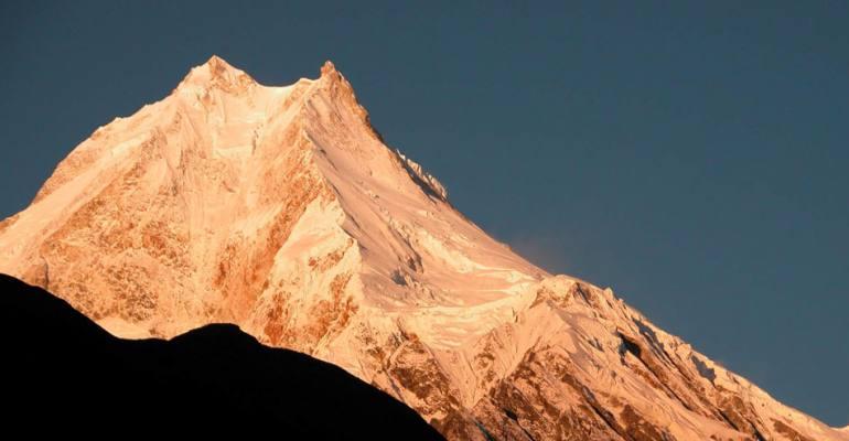 Mt. Manaslu (8156 meters)