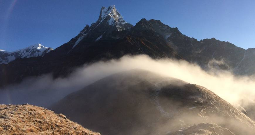 Breathtaking landscape on the Mardi Himal Trekking Route