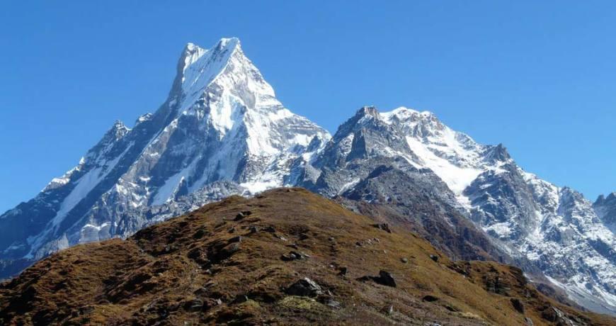 The iconic peak, Mt. Fishtail