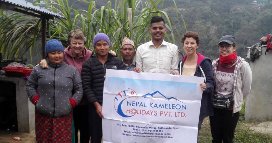 Kameleon Tour with Local People