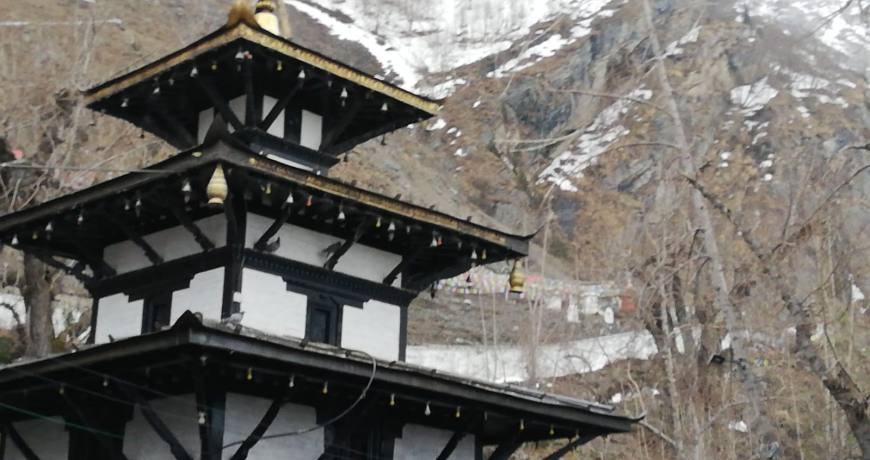 Muktinath Temple in Mustang region