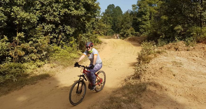 Nagarjun Shivapuri Mountain Bike Adventure Day Tour