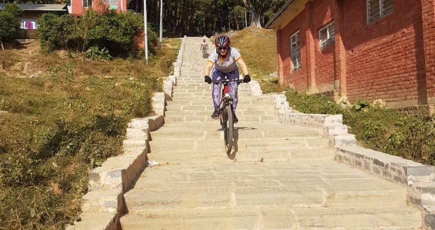 Nagarkot Mountain Bike Day Tour