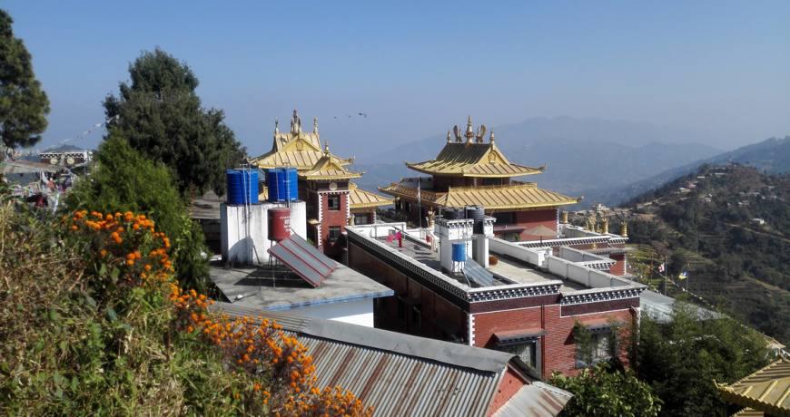 Namobuddha Monastery on the way to Namobuddha Balthali Hiking