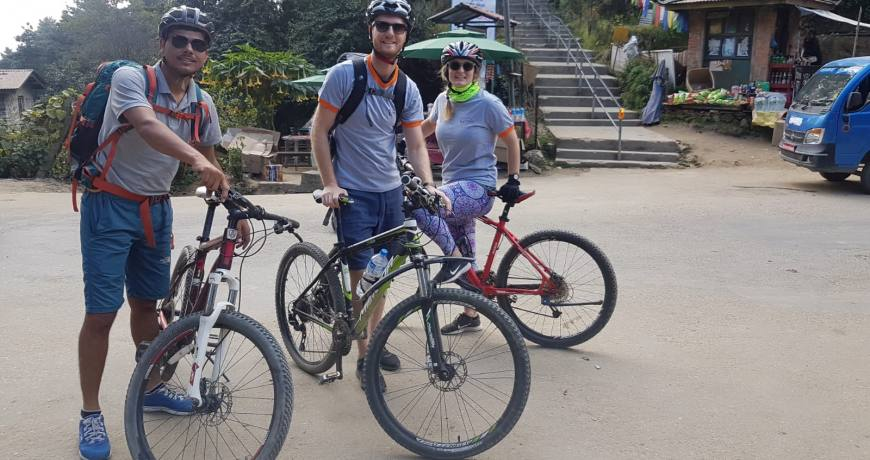 Namobuddha Mountain Bike Adventure Day Tour WhatsApp: +977 9851159455