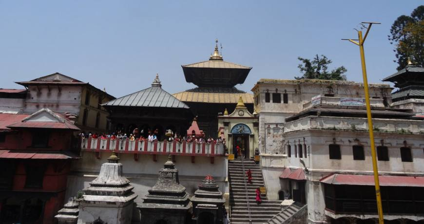 Pashupatinath Temple Premises