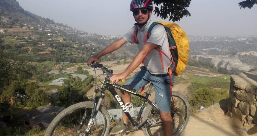 Mountain Biking Day Tour to Pharping and Dakshinkali Temple