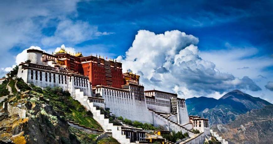 The Potala Palace, Lhasa Tibet