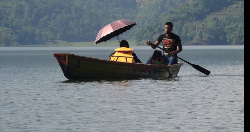 Boating in Begnas Lake, the best Lake for boating