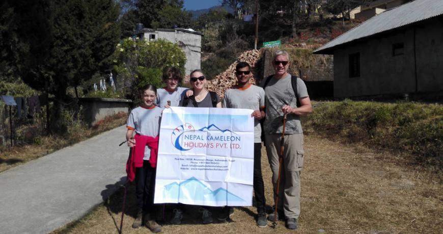 Shivapuri Day Hike with Family Bowman